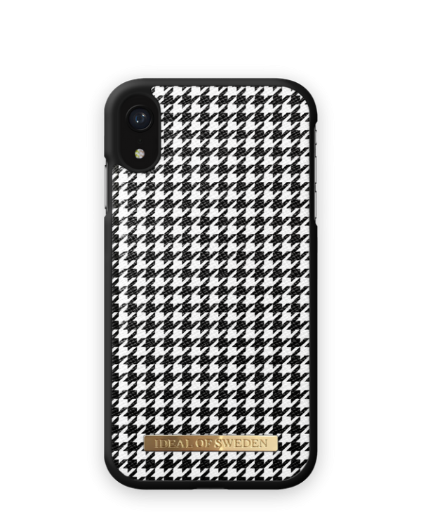 IDEAL OF SWEDEN Θήκη Fashion iPhone XR Houndstooth IDHC-IXR-161