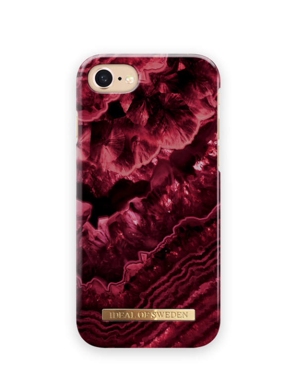 IDEAL OF SWEDEN Θήκη Fashion iPhone 8/7/6/6S Claret Agate IDFCDC19-I7-179