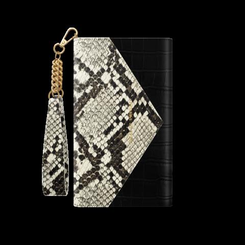 IDEAL OF SWEDEN για το iPhone 12/12 Pro Envelope Clutch Midnight Python IDECSS20-I2061-199