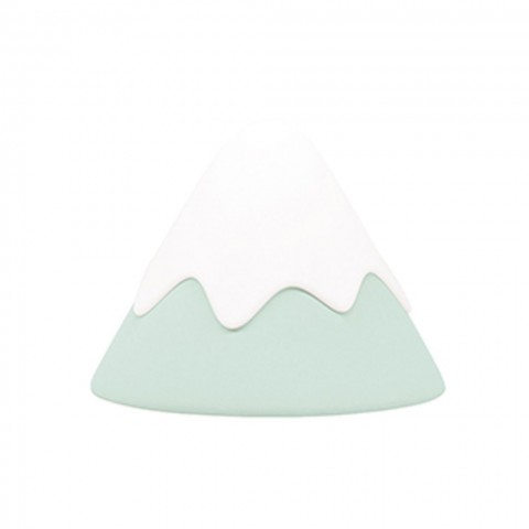 Allocacoc® Snow Mountain |Green Lamp| Φωτάκι νυκτός χιονισμένο βουναλάκι (πράσινο)