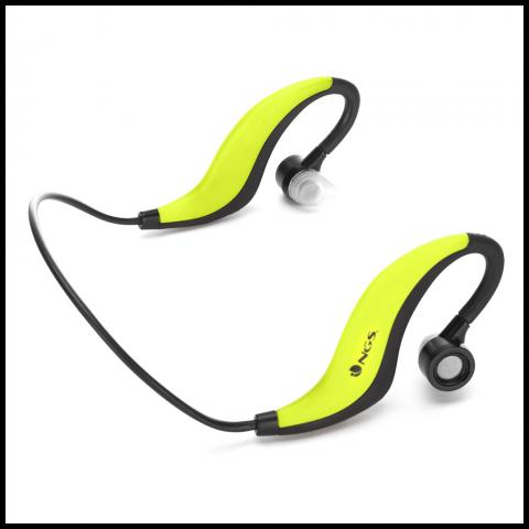 NGS Ακουστικά Bluetooth Sport ARTICARUNNERYELLOW