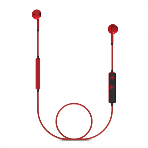 ENERGY SISTEM Earphones 1 BT Κόκκινο 428410
