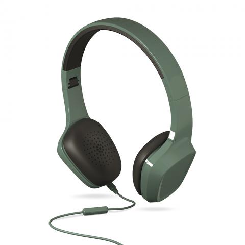 ENERGYSISTEM Headphones 1 με Μικρόφωνο Πράσινο 428380