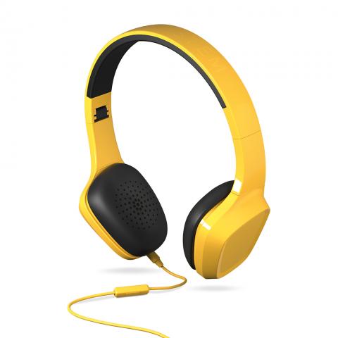 ENERGYSISTEM Headphones 1 με Μικρόφωνο Κίτρινο 428397
