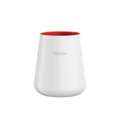 Allocacoc® DropCup |Red Mug| Όμορφη κούπα σε σχήμα σταγόνας (κόκκινο)