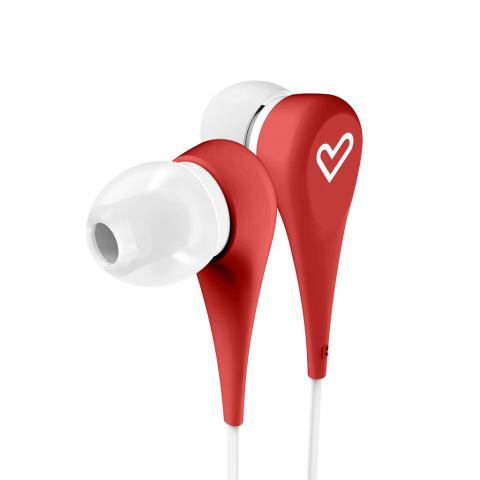 ENERGYSISTEM Earphones Style 1  Κόκκινο 446001