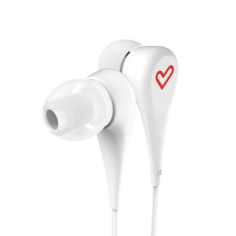 ENERGYSISTEM Earphones Style 1 Λευκό 446421