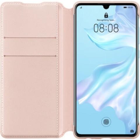 Huawei Wallet Cover Huawei P30 Pink - 51992856