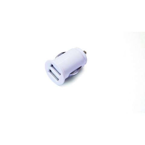 Green Mouse Φορτιστής αυτοκινήτου Διπλός Ασπρος- 2,4Α 46956453