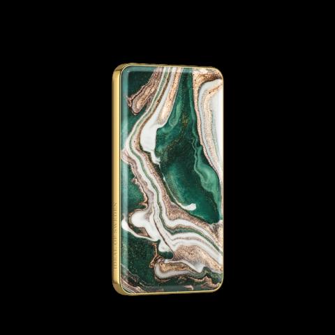 IDEAL OF SWEDEN Fashion Powerbank Golden Jade Marble IDFPB-98