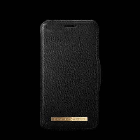 IDEAL OF SWEDEN Θήκη iPhone XS MAX Fashion Wallet Black Saffiano IDFW-I1865-01