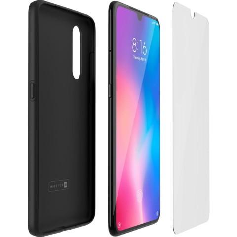 Made for Xiaomi Θήκη Xiaomi Mi 9 Black WICASEMI9