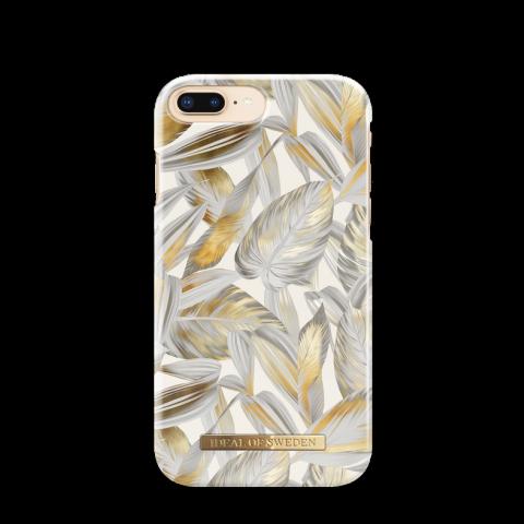 iDEAL Θήκη Fashion iPhone 8/7/6/6s Plus Platinum Leaves IDFCSS19-I7P-117