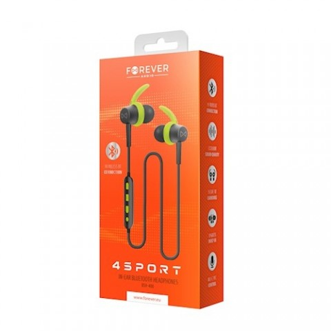 Forever BSH-400 In-ear Bluetooth Handsfree Πράσινο