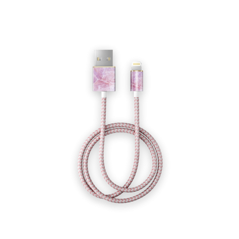 IDEAL OF SWEDEN Fashion Cable Lightning 1m Pilion Pink Marble IDFCL-52