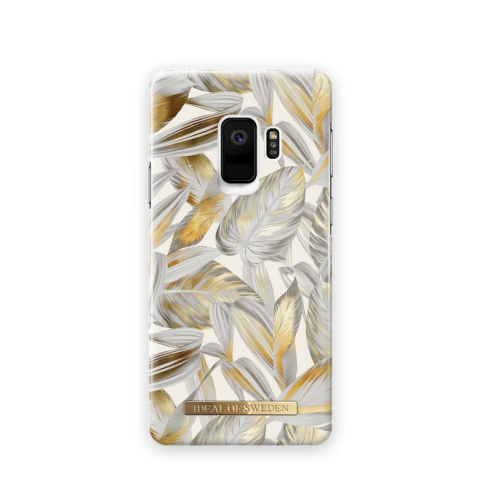iDEAL Θήκη Fashion Samsung Galaxy S9 Platinum Leaves IDFCSS19-S9-117