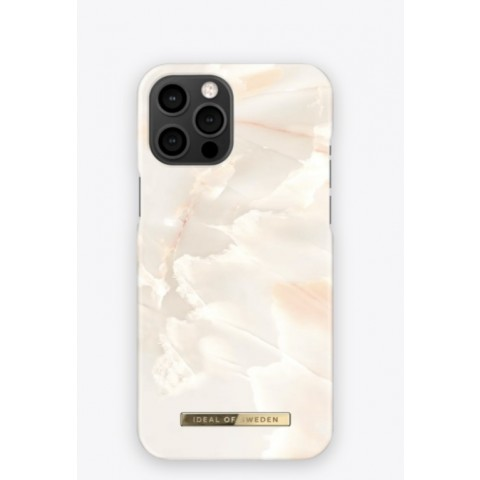 IDEAL OF SWEDEN Fashion Case SS21 iPhone 12/12 Pro Rose Pearl Marble IDFCSS21-I2061-257