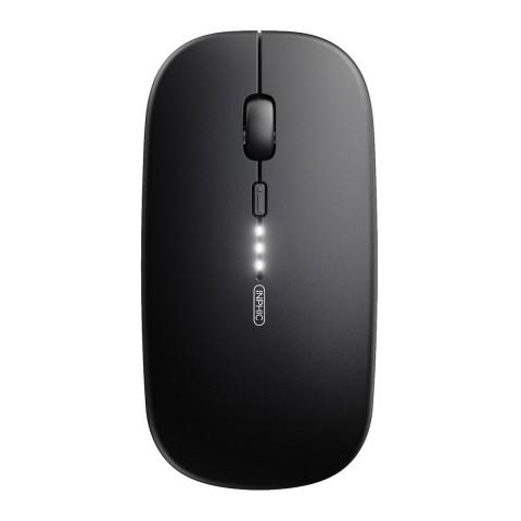 Inphic Aσύρματο Ποντίκι Μαύρο M1P