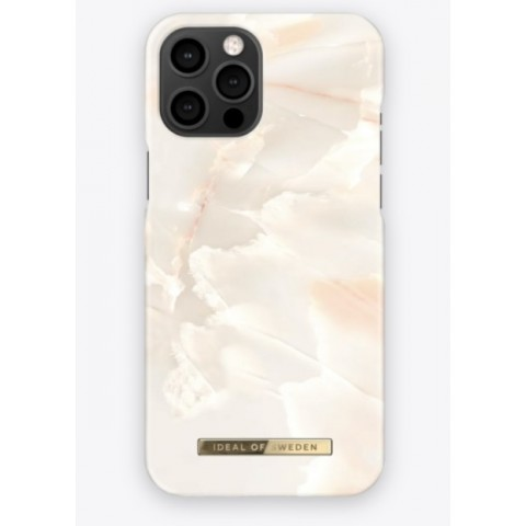 IDEAL OF SWEDEN για το iPhone 12 Pro Max Fashion Case Rose Pearl Marble IDFCSS21-I2067-257
