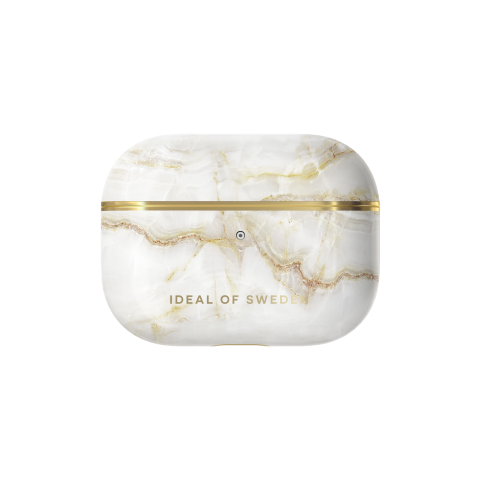 IDEAL OF SWEDEN θήκη για Airpods Pro Golden Pearl Marble IDFAPC-PRO-194