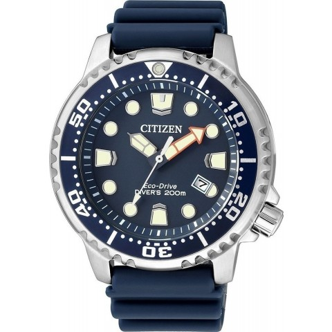 Citizen Ανδρικό Ρολόι Eco-Drive Promaster Divers 200M Mens Watch BN0151-17L