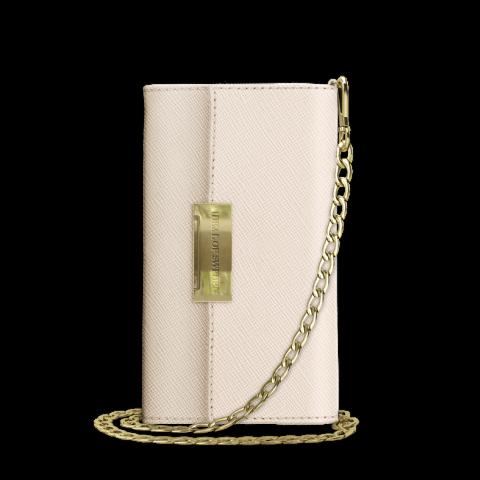 IDEAL OF SWEDEN Θήκη Wallet Kensington Crossbody Clutch iPhone XR Beige IDKCC-IXR-128