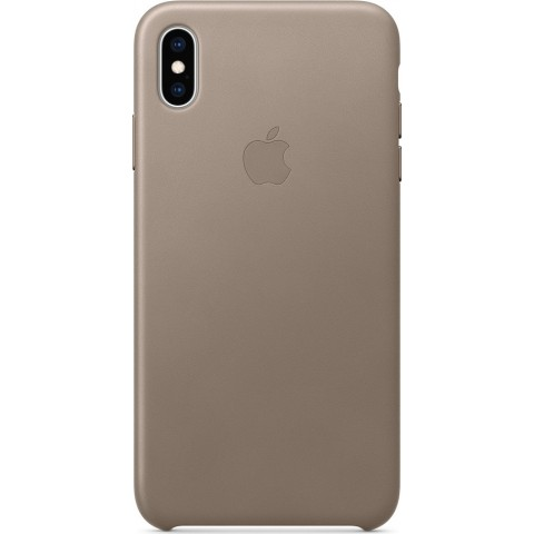 Apple Leather Case Taupe (iPhone XS Max) MRWR2ZM/A
