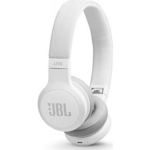JBL Bluetooth Headset Live 400BT White