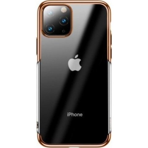 Baseus Shining Series Back Cover Διάφανο/Χρυσό (iPhone 11 Pro Max)
