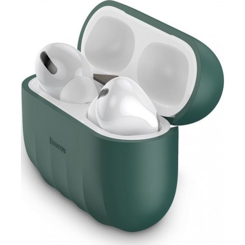 Baseus Shell Airpods Pro Πράσινο WIAPPOD-BK06