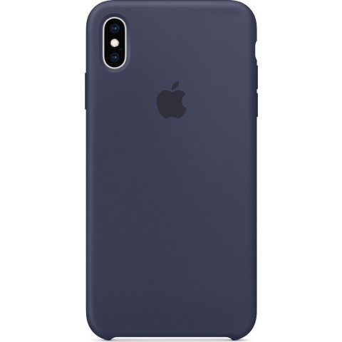 Apple Leather Case Midnight Blue (iPhone XS Max) MRWU2ZM/A