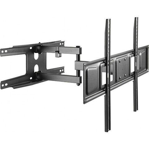 "BRATECK Επιτοίχια βάση διπλού βραχίονα για οθόνη 37-70"", 35kg LPA63-463D"
