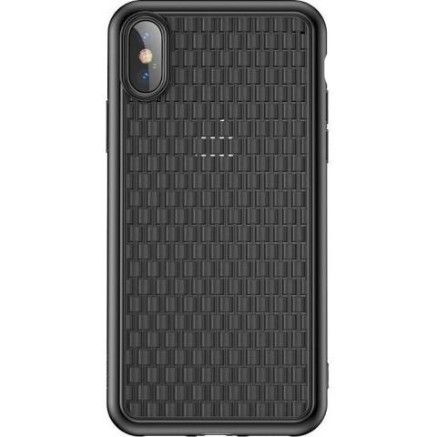 Baseus Θήκη Σιλικόνης BV 2nd Generation για Apple iPhone XS Max - Μαύρο