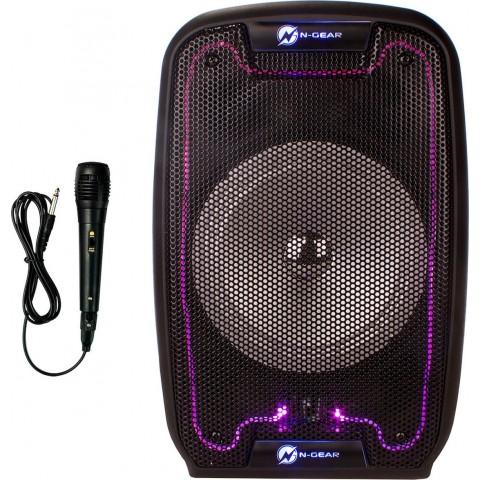 N-Gear 150 Watt αυτοενισχυόμενο ηχείο Bluetooth με MicroSD,USB,FM ράδιο,και μικρόφωνο με μπαταρία The Flash 810