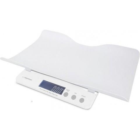 Esperanza Ψηφιακή Βρεφική Ζυγαριά 2 σε 1 μέτρηση 10-50 gr & έως 100kg EBS017