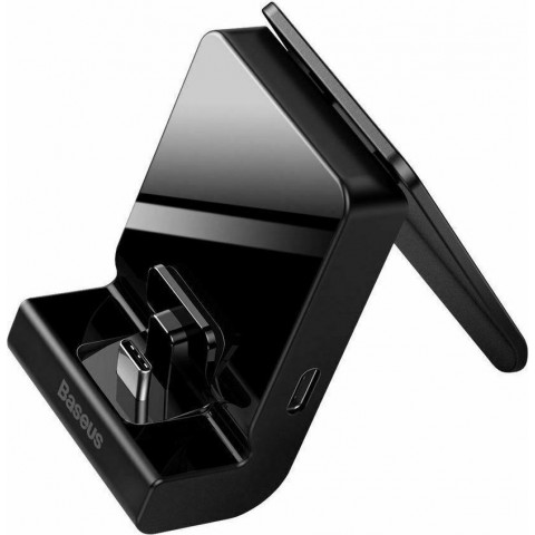Baseus Βάση Φόρτισης GS10 for Nintendo Switch Black WXSWGS10-0