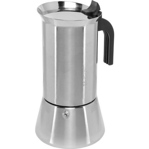Bialetti New Venus Induction Μπρίκι Espresso 10cups Ασημί