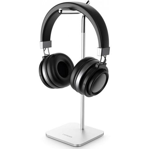 Ugreen Βάση για Ακουστικά και Headset Adjustable Headphone Stand Bracket - Ασημί (80701)