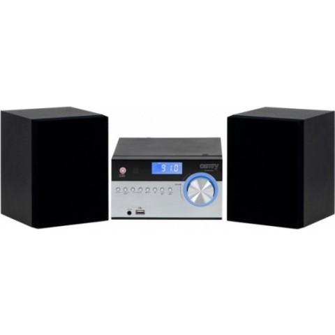 Camry Ηχοσύστημα 2.0 28W με CD Player και Bluetooth Ασημί / Μαύρο CR-1173