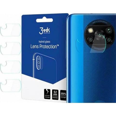 3MK Camera Lens Tempered Glass Protector (Poco X3 NFC)