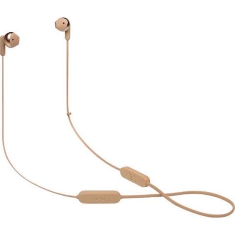 JBL Tune 215BT Earbud Bluetooth Handsfree Χρυσό