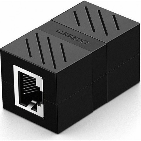Ugreen network cable connector Ethernet RJ45 10 Gbps black (NW114 20390)