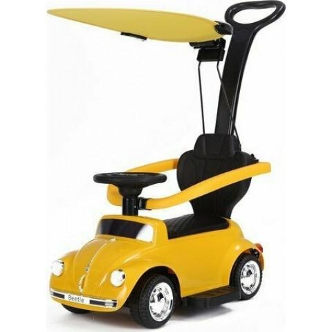 Παιδικό Ηλεκτρικό Αυτοκίνητο Baby Adventure Licensed Volkswagen Beetle Yellow
