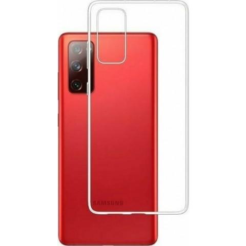 3MK θήκη κινητού Back Cover Σιλικόνης Διάφανο (Galaxy S20 FE)