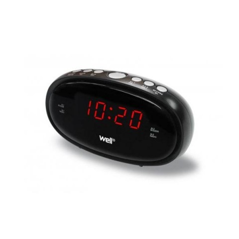 WELL Ψηφιακό ρολόι - ξυπνητήρι CLOCK-DESK-RELAX-WL