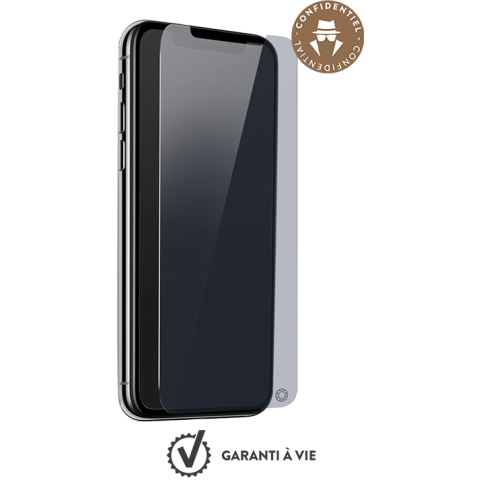 FORCE GLASS smoky tempered glass ΠΡΟΣΤΑΣΙΑ ΟΘΟΝΗΣ iPhone XS Max FGEVOIP65PRIV
