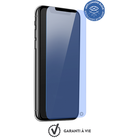 FORCE GLASS anti-blue ΠΡΟΣΤΑΣΙΑ ΟΘΟΝΗΣ iPhone XS Max FGEVOIP65AB