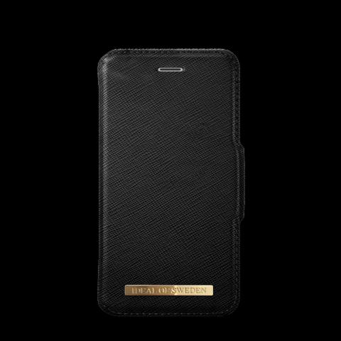 IDEAL OF SWEDEN Θήκη iPhone 8/7/6/6s Fashion Wallet Black Saffiano IDFW-I7-01