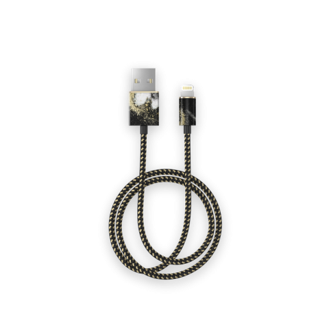 iDEAL Fashion Cable Lightning 1m Black Galaxy Marble IDFCL-150