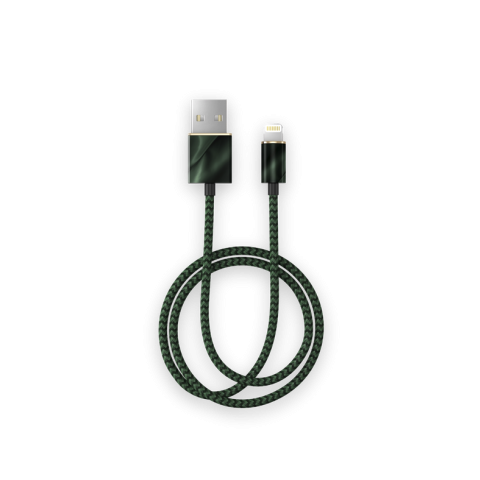iDEAL Fashion Cable Lightning 1m Emerald Satin IDFCL-154